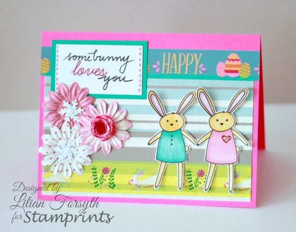 Digital Stamp Set - Bunny Love MFS-164 (by Stamprints)