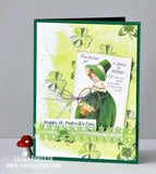 Digital Collage Sheet - Happy St. Patrick's Day CS-04 (by Stamprints). Printable Vintage Images. Original Designs. Paper Crafts. Altered Art