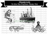 Digital Stamp Set - In The Sea (by Stamprints)