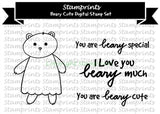 Digital Stamp Set - Beary Cute MFS-169 (by Stamprints)