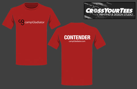 Camp Gladiator tees