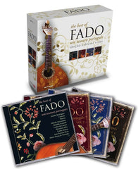 THE BEST OF FADO, UM TESOURO PORTUGUÊS - 4 CD