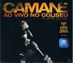 Camané, AO VIVO NO COLISEU - SEMPRE DE MIM (CD+DVD)