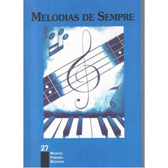 Partituras MELODIAS DE SEMPRE - Vol 27