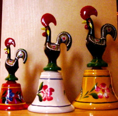 Galo de Barcelos / Rooster of Portugal - Campaínha
