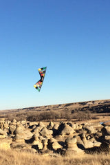 flying Kites at Writing on Stone Provincial Park