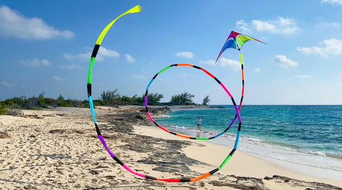 75 ft Prism Tube Tail for kites - Great Canadian Kite Company