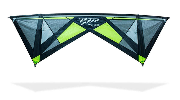1.5 RX - Quad line Kite - Teal by Revolution Kites - Great Canadian Kite Company