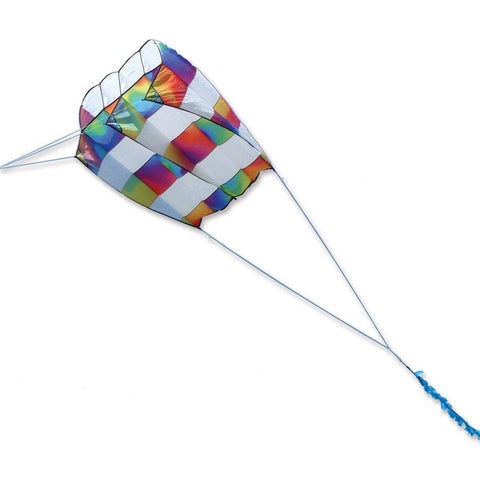Killip 10 Foil Kite- Rainbow Stripes - Great Canadian Kite Company