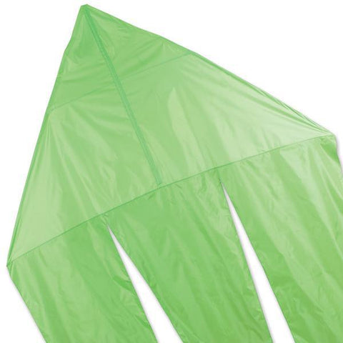 6.5ft Flo-Tail GHOST Kite - Neon Green by Premier Kites - Great Canadian Kite Company