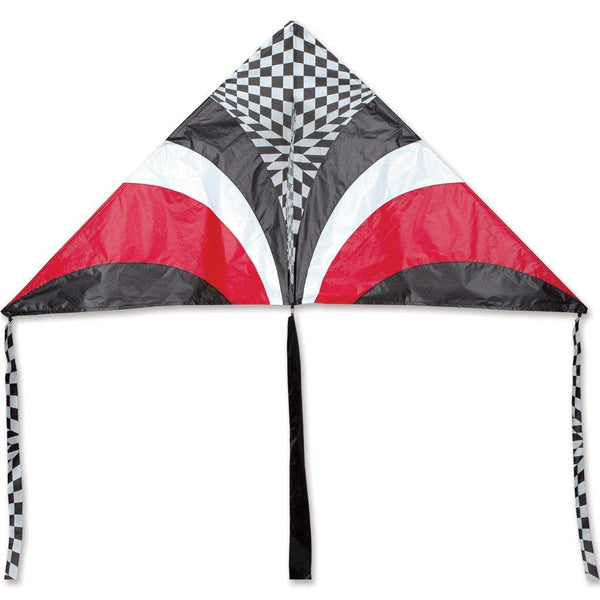 X-Delta Kite - Red Op Art - Great Canadian Kite Company
