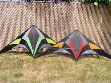 Nirvana SE - Low Wind Stunt Kite by R-Sky - Great Canadian Kite Company