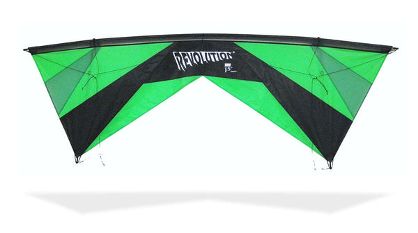 Revolution EXP with Reflex (Green/Black) by Revolution Kites - Great Canadian Kite Company