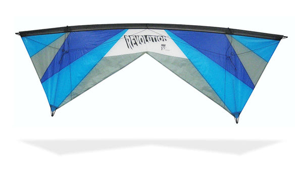 Revolution EXP with Reflex (Blue/Grey), Revolution Kites - Great Canadian Kite Co