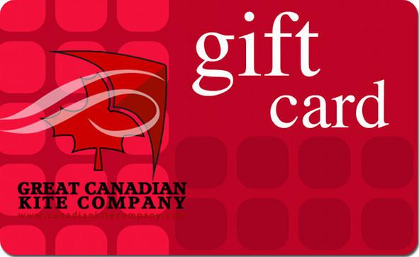 Great Canadian Kite Co. Gift Card by Great Canadian Kite Company - Great Canadian Kite Company