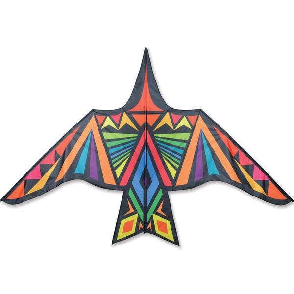 Thunderbird Kite - 11.5 ft. Rainbow Geometric - Great Canadian Kite Company