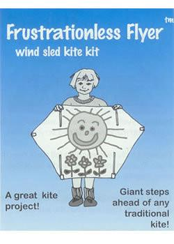 Frustrationless Flyer Kite Kit by Great Wind Kites - Great Canadian Kite Company