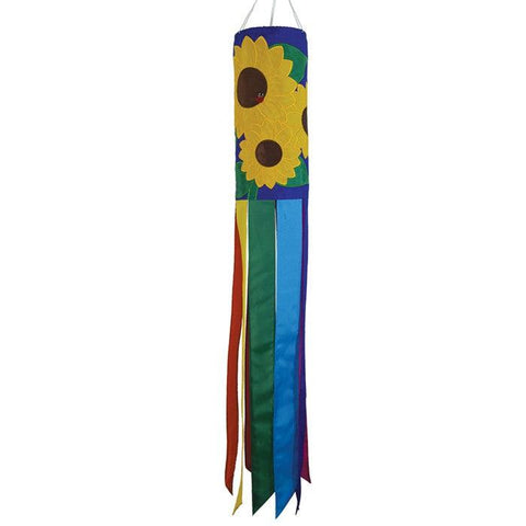 Sunflowers Windsock - Great Canadian Kite Company