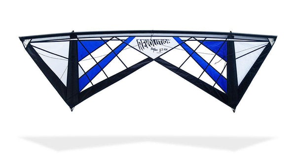 Reflex RX Spider Web - Quad line Kite - Dark Blue - Great Canadian Kite Company