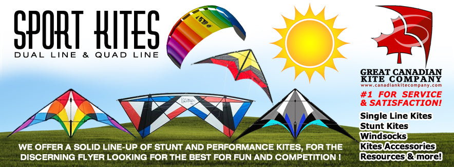 Revolution kites for sale in Canada four string kites