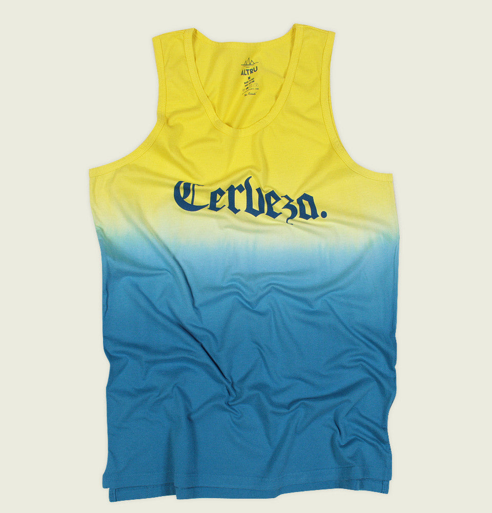 CERVEZA Tank Top - Altru Apparel - Tees.ca