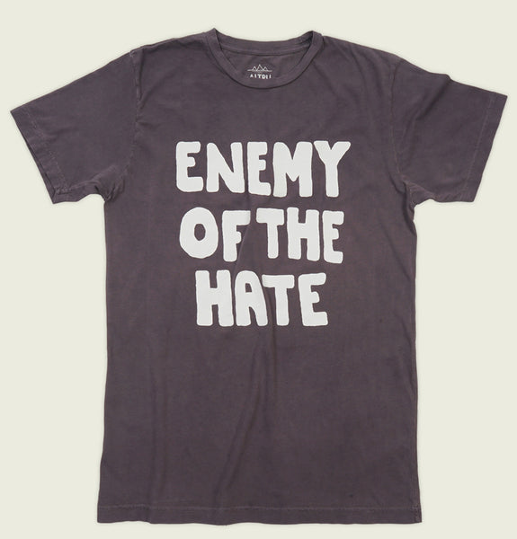 ENEMY OF THE HATE Unisex T-shirt - Altru Apparel - Tees.ca