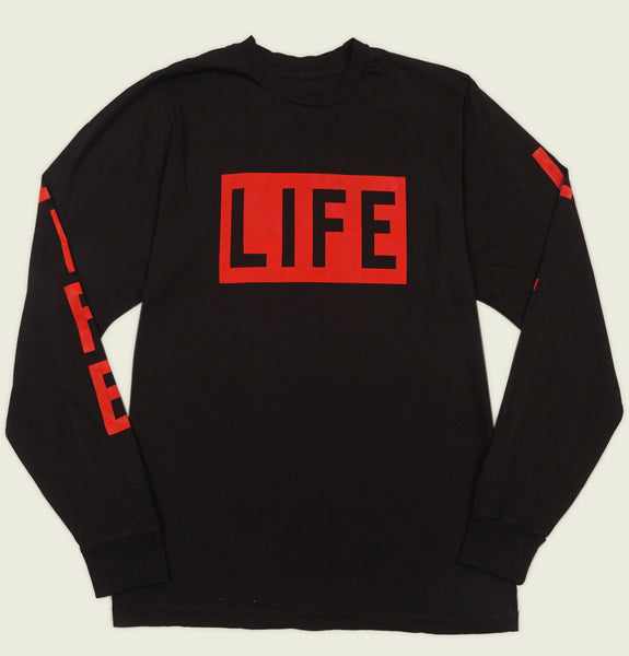 LIFE LOGO Long Sleeve Men's Shirt