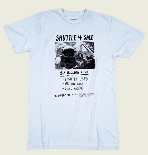 SHUTTLE FOR SALE Unisex T-shirt - Tees.ca
