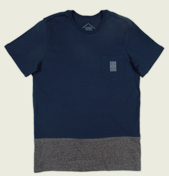 WELL SHARP COLOUR BLOCK WITH POCKET Unisex T-shirt - Altru Apparel - Tees.ca
