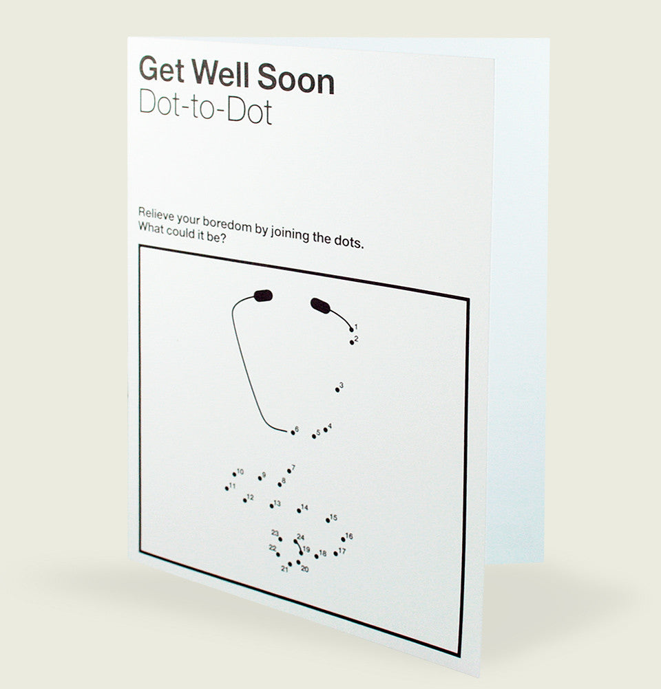 GET WELL SOON Greeting Card - Designers Anonymous - Tees.ca