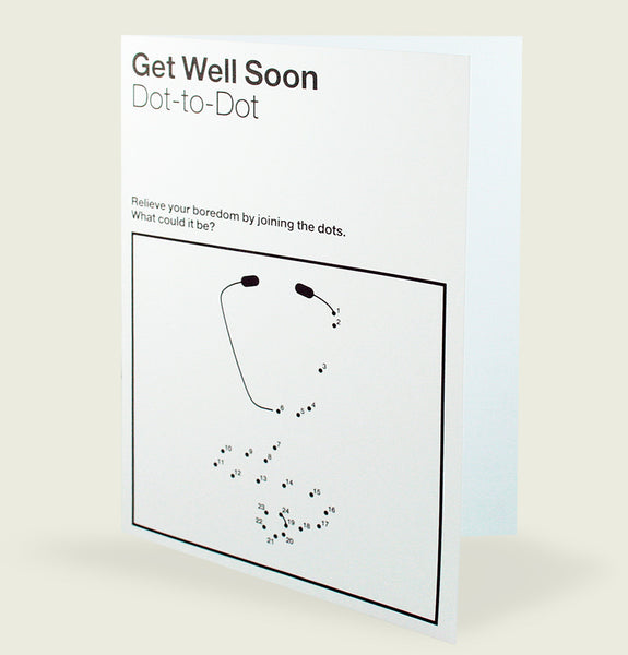GET WELL SOON Greeting Card - Tees.ca