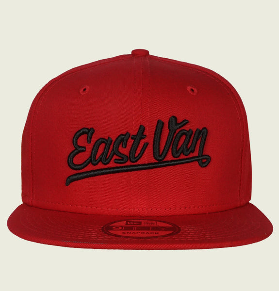 EAST VAN NEW ERA RED HAT - EastVan.Supply - Tees.ca