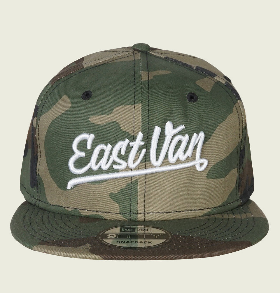 EAST VAN NEW ERA CAMOUFLAGE HAT - EastVan.Supply - Tees.ca