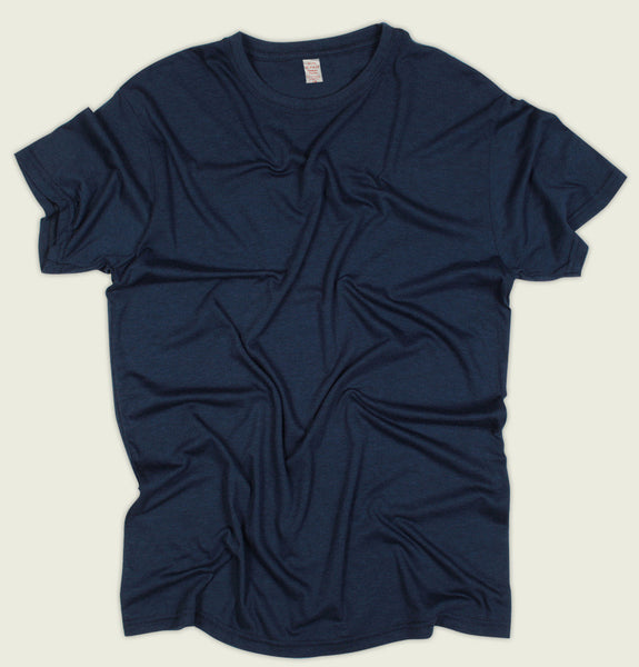 Bamboo Midnight Blue Tee - Tees.ca