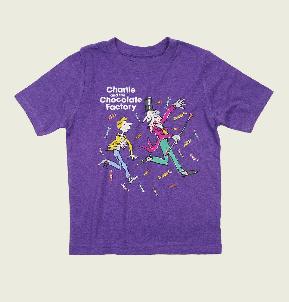 CHARLIE AND THE CHOCOLATE FACTORY Kids' T-shirt