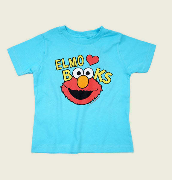 ELMO LOVES BOOKS Kids' T-shirt - Out of Print - Tees.ca