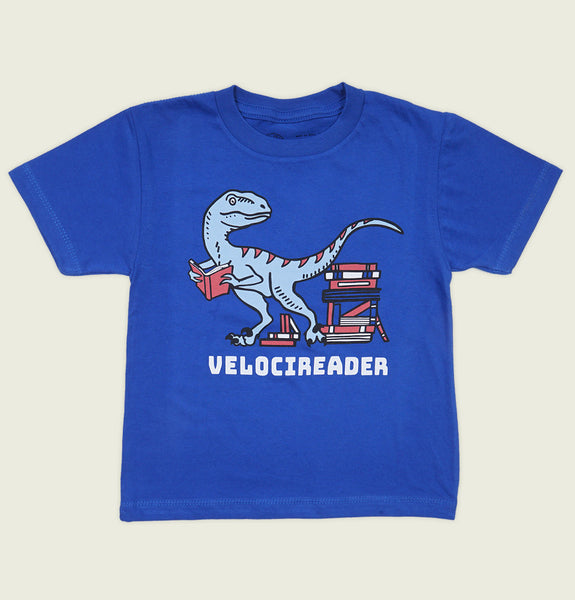 VELOCIREADER Kid's T-shirt - Out of Print - Tees.ca