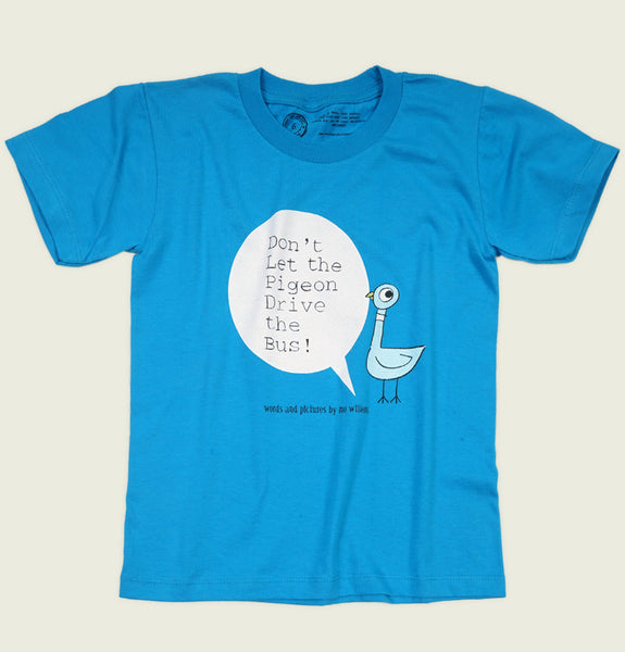 DON'T LET THE PIGEON DRIVE THE BUS Kid's T-shirt - Out of Print - Tees.ca