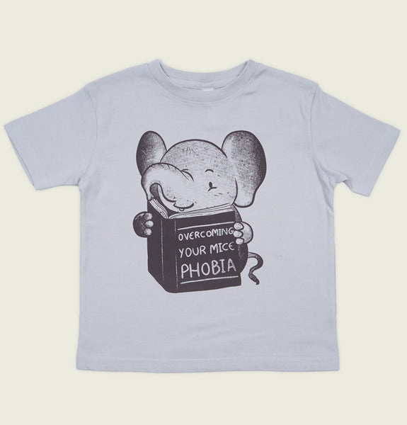 OVERCOMING YOUR MICE PHOBIA Kid's T-shirt - Tobe Fonesca - Tees.ca