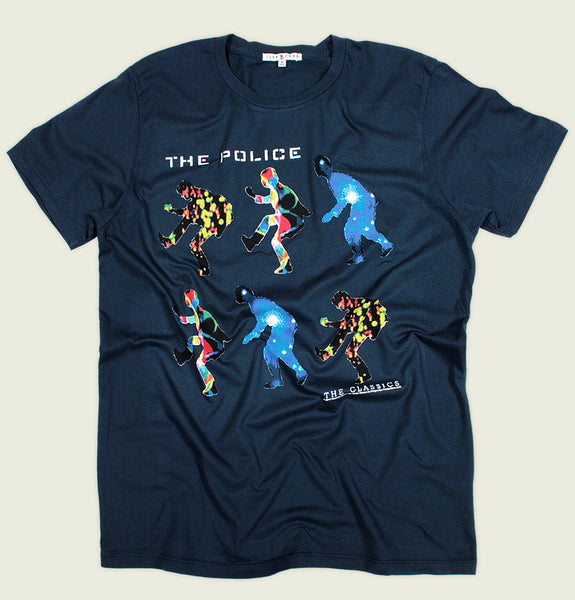 THE POLICE Unisex T-shirt - Junk Food - Tees.ca