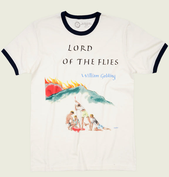 LORD OF THE FLIES Unisex Ringer T-shirt - Out of Print - Tees.ca