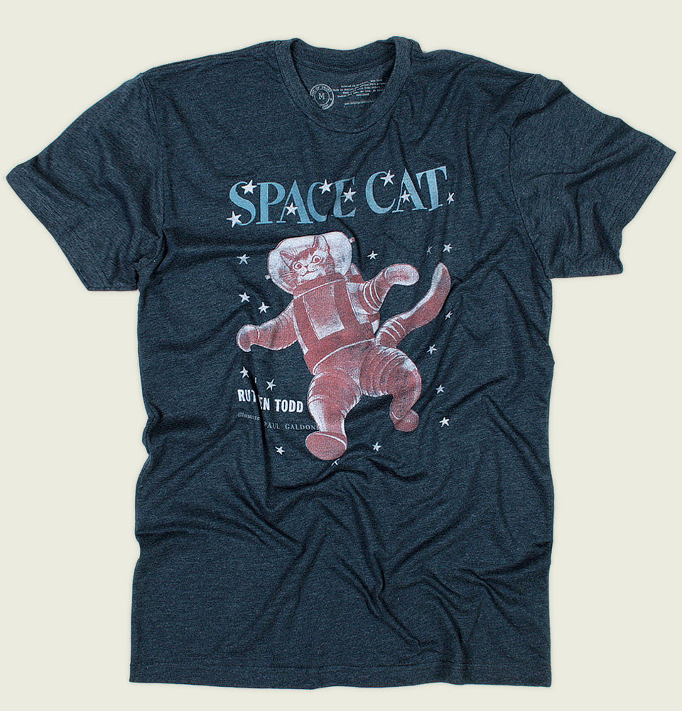 SPACE CAT Unisex T-shirt - Out of Print - Tees.ca