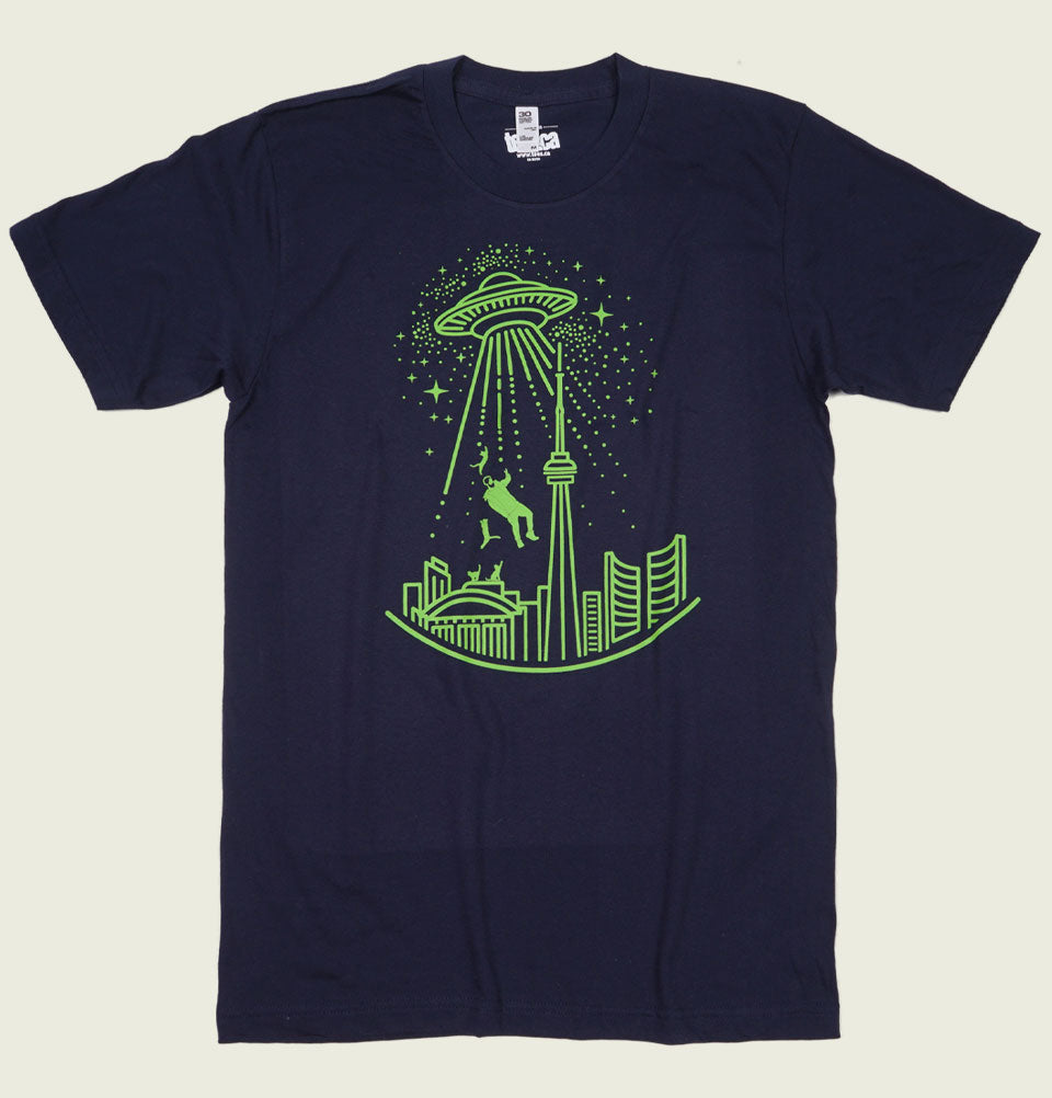 Toronto alien abduction Unisex T-shirt