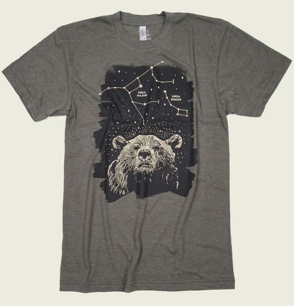 Bear Constellation Unisex T-shirt