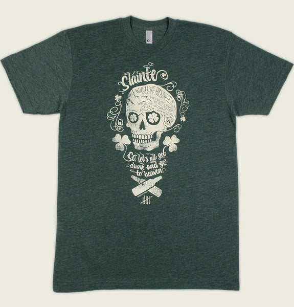 IRISH SKULL Unisex T-shirt - Alter Jack - Tees.ca