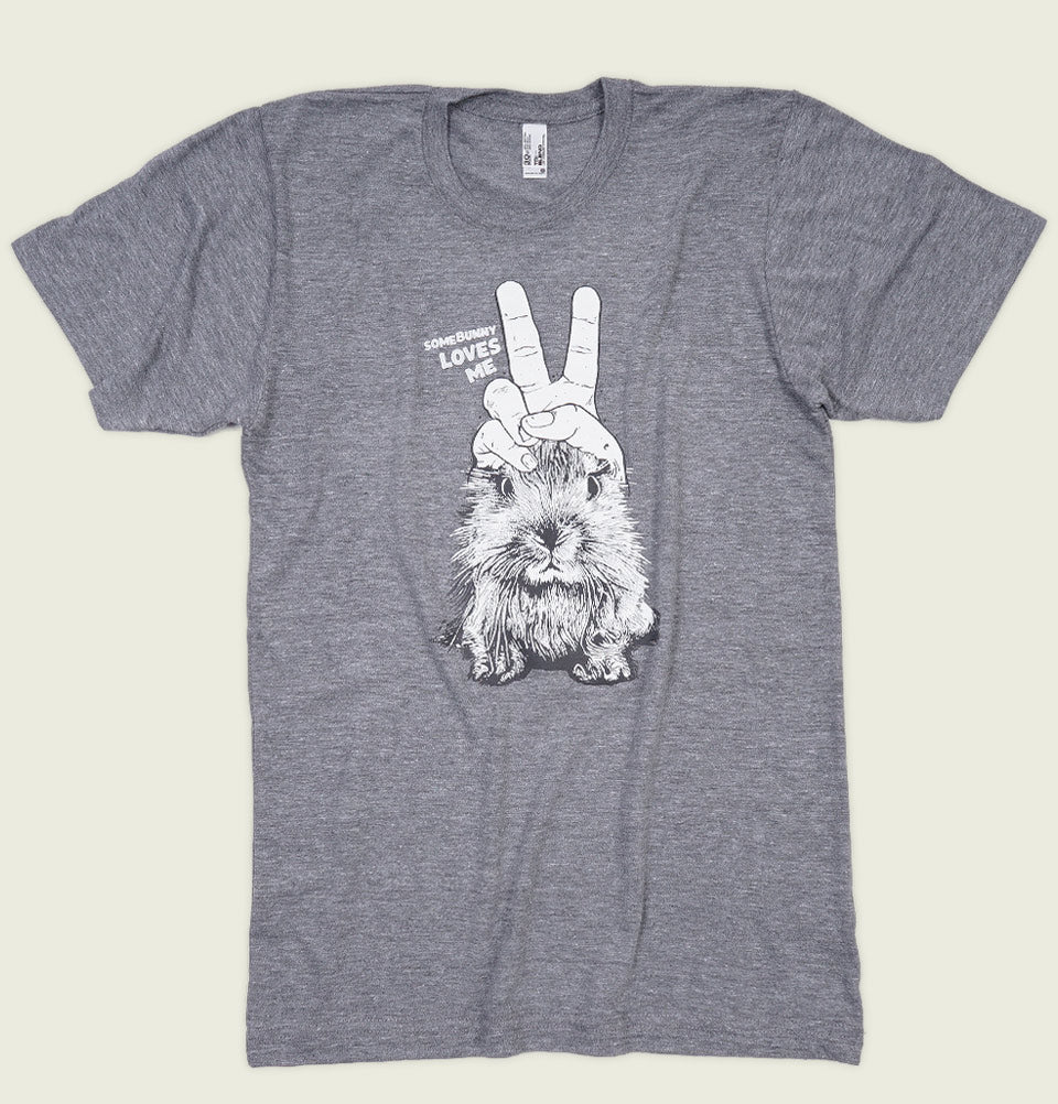 SOME BUNNY LOVES ME Unisex T-shirt - Alter Jack - Tees.ca
