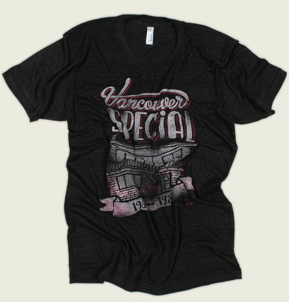 T Shirt Vancouver Special On Black Men Graphic Tee Shirt Tees