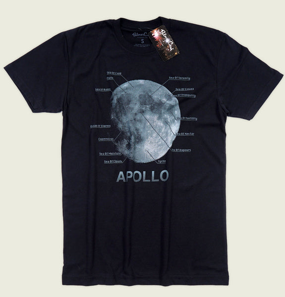 APOLLO MAP Unisex T-shirt - PalmerCash - Tees.ca