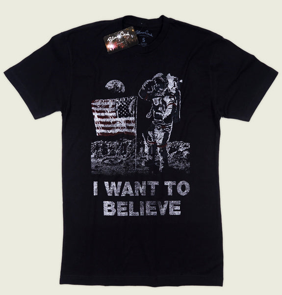 I WANT TO BELIEVE Unisex T-shirt - PalmerCash - Tees.ca