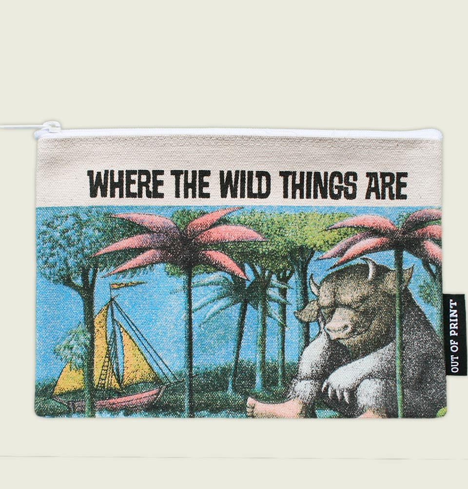 WHERE THE WILD THINGS ARE POUCH - Out of Print - Tees.ca